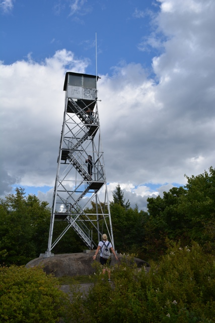 Mt Arab Fire Watch Tower - Exploring the Adirondacks in New York State
