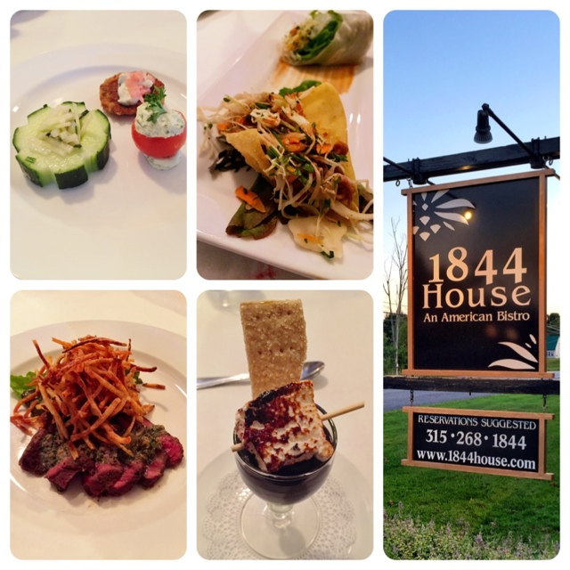 Tasting Menu at the 1844 House Restaurant - Exploring the Adirondacks in New York State