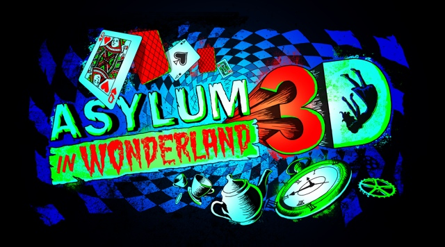 Asylum in Wonderland 3D Haunted House - Halloween Horror Nights at Universal Orlando Resorts