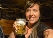 Cailin Alexander Keith's beer selfie - Alexander Keith's Brewery Tour in Halifax, Nova Scotia