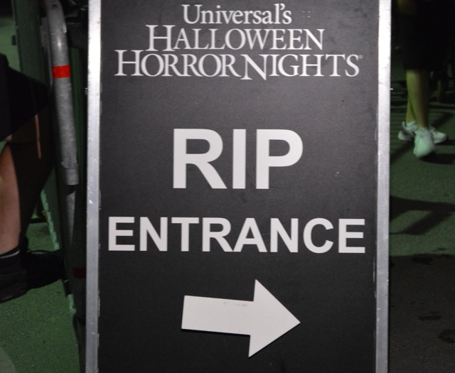 RIP VIP Tour Entrance at Halloween Horror Nights - Halloween Horror Nights at Universal Orlando Resorts