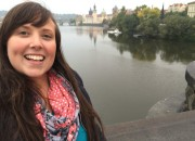 Cailin traveling cheap in Prague - Tips for Saving Money to Travel