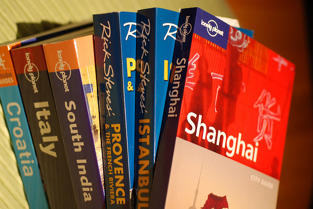 Travel Guide Books - flickr image credit Let Ideas Compete - The Worst Gifts for People who Love to Travel