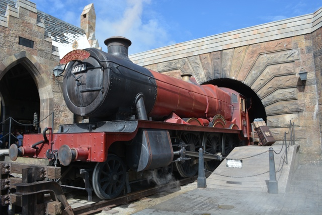 the Hogwarts Express in Hogsmeade - Universal Orlando Resort VIP Tour Highlights