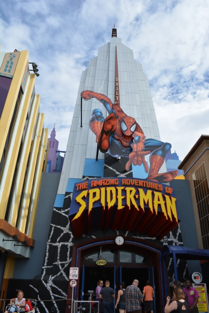 the amazing adventures of spider-man ride - Universal Orlando Resort VIP Tour Highlights
