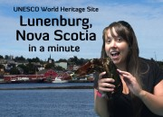 Lunenburg in a minute blog