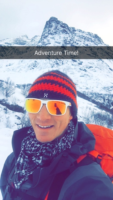 Matt of ExpertVagabond.com on snapchat - Travel Bloggers Best Tips for Using Snapchat
