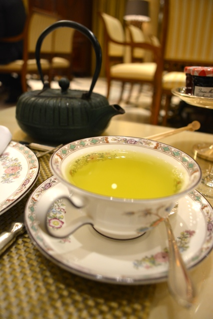 Tanka cha green tea mariage freres - Afternoon Tea at The Ritz-Carlton, Berlin