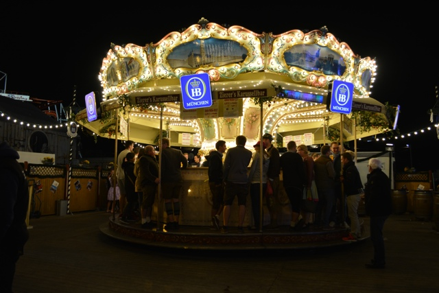 beer merry go round at oktoberfest Hefeweizen beer - Best Tips for Celebrating Oktoberfest in Munich