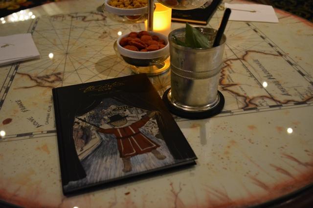 the Curtain Club menu - Afternoon Tea at The Ritz-Carlton, Berlin