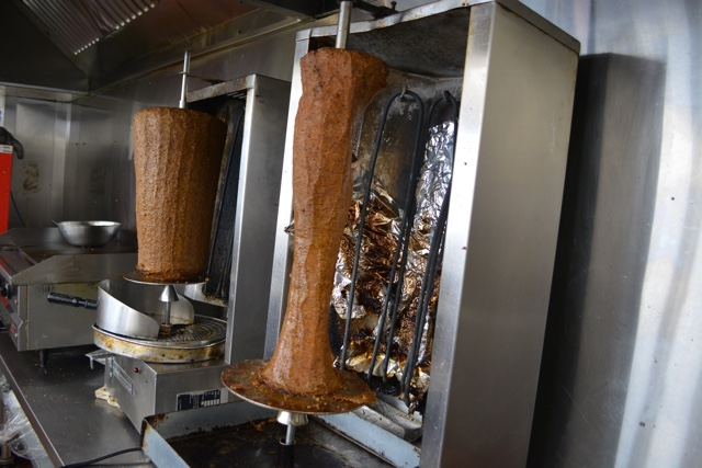 donair meat grilled on a spit - What is the Halifax donair?