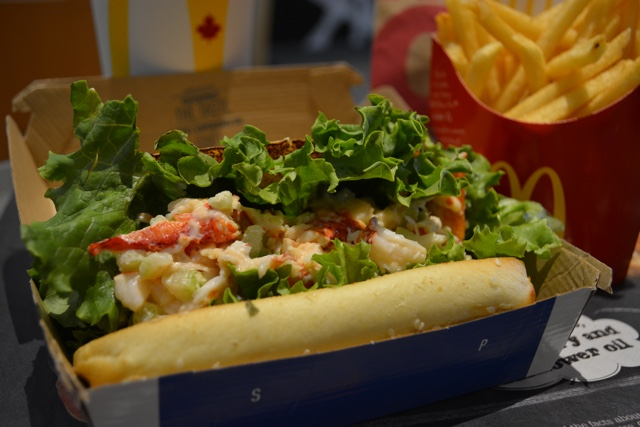 McDonald's McLobster roll and fries - What is the McDonald's McLobster?