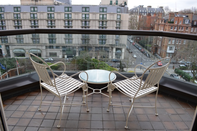 balcony overlooking Kensington neighborhood - Cheval Gloucester Park Luxury Apartments London