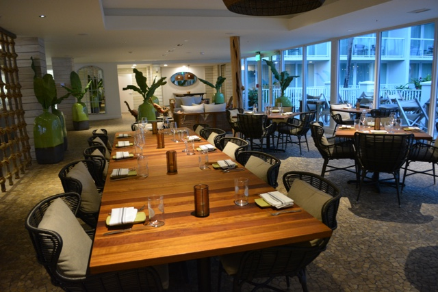 cucina italiana oltremare ristorante Italian restaurant - Amara Cay Resort Review in the Florida Keys