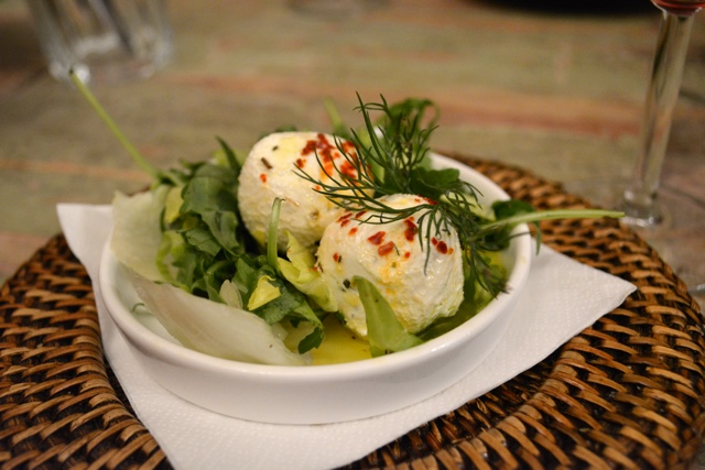 czech yogurt balls and salad - A Delicious Food Tour in Prague with Eating Europe