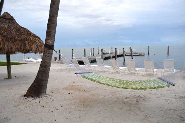 hammock on the beach - Amara Cay Resort Review in the Florida Keys
