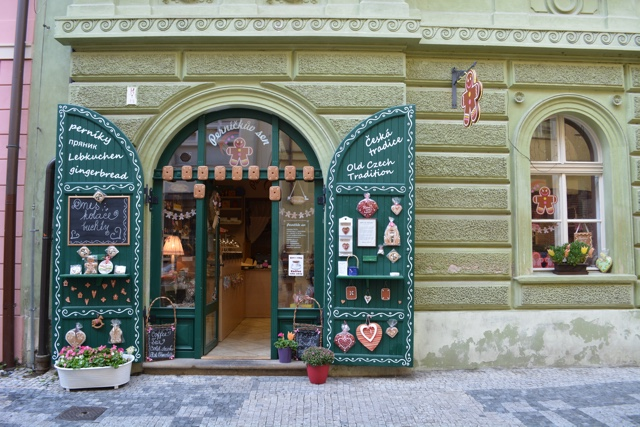 pernickuv sen gingerbread store in Prague - A Delicious Food Tour in Prague