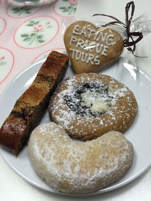traditional Czech cookies, pastries and desserts - A Delicious Food Tour in Prague