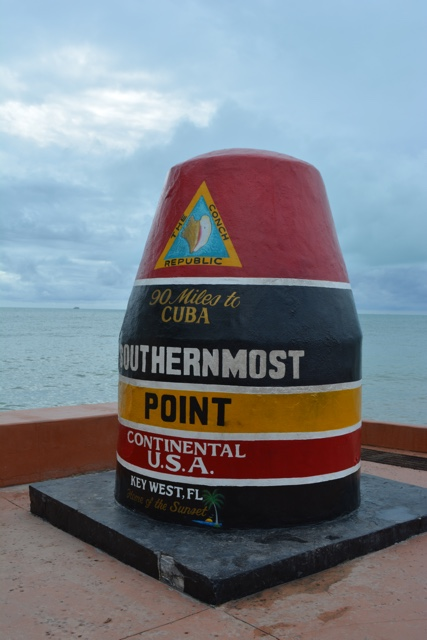 the southernmost point of the continental US in Key West, Florida - The Best Things to do in the Florida Keys