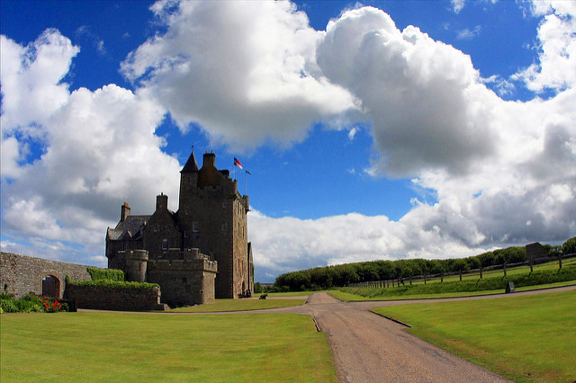 Ackergill Castle image by flickr user Erik Charlton - My top 5 Dream Destinations