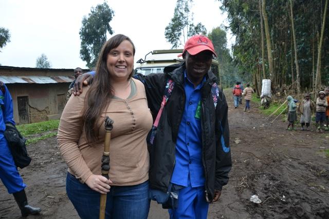 Jackson the best porter for gorilla trekking in rwanda - Trekking to see Wild Mountain Gorillas in Rwanda