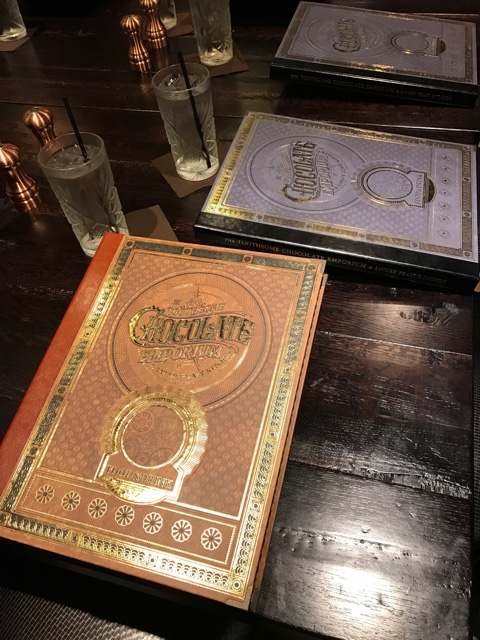 the menus were the size of books - A Review of The Toothsome Chocolate Emporium at Universal Orlando
