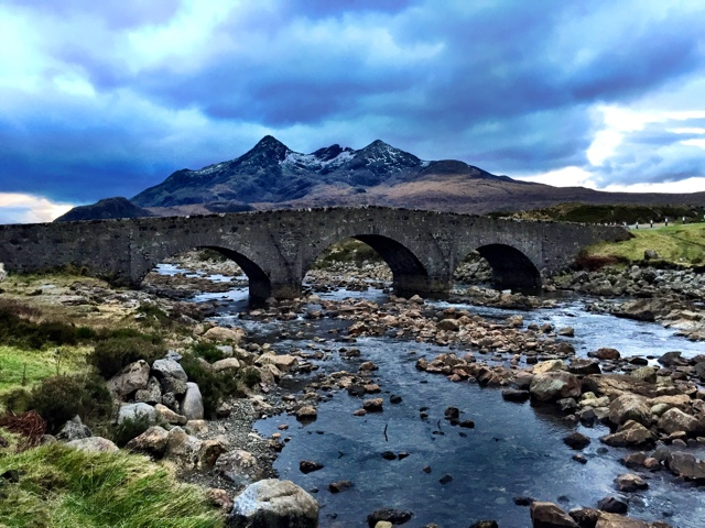 black cuillin mountains - Edinburgh to the Isle of Skye Tour Highlights