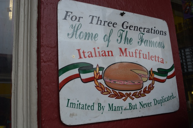central grocerey and deli home of the original muffuletta - Review of the Doctor Gumbo Food Tours in New Orleans