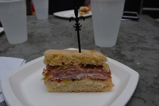 muffuletta - Review of the Doctor Gumbo Food Tours in New Orleans