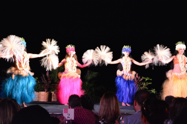 royal hawaiian luau aha aina hula girls - Touring Oahu, Hawaii in a Minute