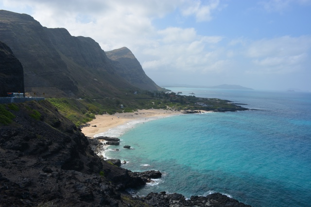 stunning Oahu sea cliffs - Touring Oahu, Hawaii in a Minute