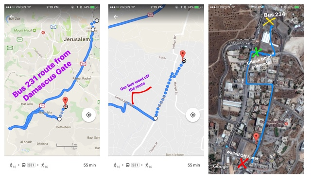 the best map to get to banksy's walled off hotel in Palestine, Bethlehem, Israel - How to Get to Banksy's Walled Off Hotel