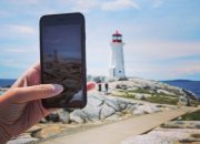Peggys Cove lighthouse - The Best SIM Card for Canadians traveling to the United States