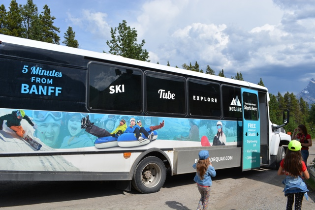 free shuttle to Mt Norquay from downtown banff - Best Tips for Visiting Banff, Alberta in one day
