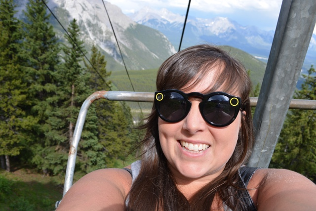 riding on the chairlift to the top of mount norquay - Best Tips for Visiting Banff, Alberta in one day