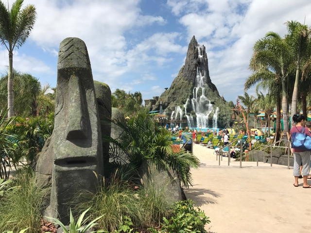 the talking tiki man totem and the krakatau volcano - Ultimate Guide to Relaxing at Universal's Volcano Bay