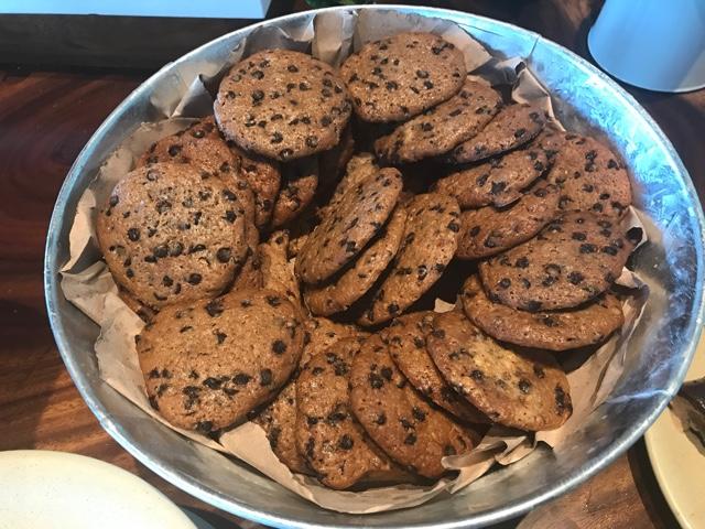 bucket of cookies in the Aromas cafe at the mercado de dolores - Ventus at Marina El Cid Spa and Beach Resort Hotel Review