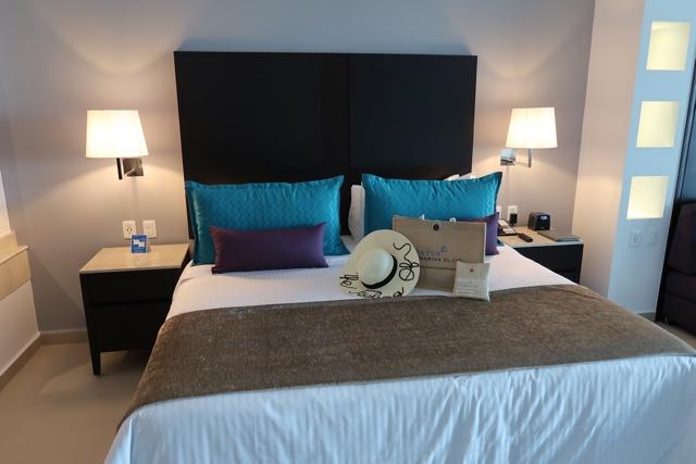 comfy bed with aroma and pillow menu - Ventus at Marina El Cid Spa and Beach Resort Hotel Review