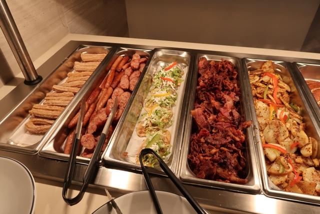 delicious breakfast buffet at the ile de france restaurant - Ventus at Marina El Cid Hotel Review