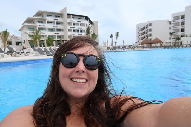 enjoying the main pool at Ventus - Ventus at Marina El Cid Spa and Beach Resort Hotel Review