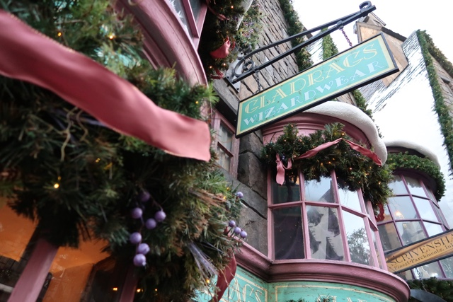 gladrags wizardwear christmas decorations hermione yule ball dress hogsmeade - Best Tips for Celebrating the Holidays at Universal Orlando