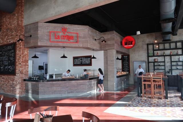 la crepe and the wok asian cuisine - Ventus at Marina El Cid Spa and Beach Resort Hotel Review
