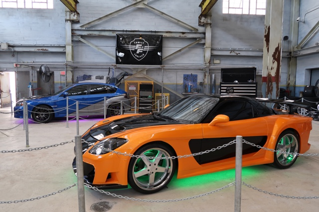 Han Seoul-Oh's1997 Mazda RX-7 F3DS from films Fast and Furious- Tokyo Drift and Fast & Furious 6