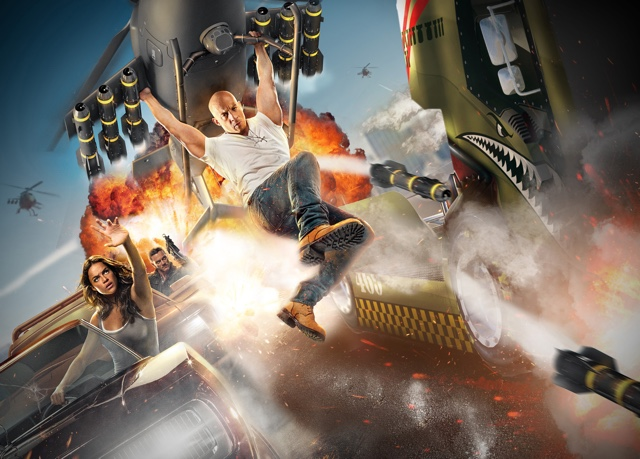 fast and furious supercharged universal orlando promotional poster
