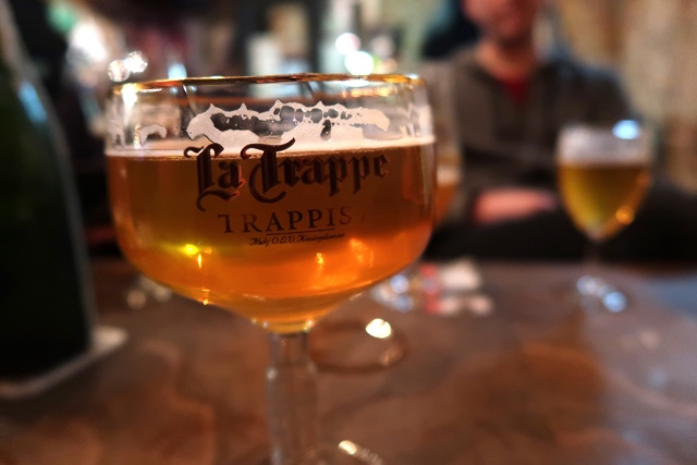 la trappe at le trappist belgian beer in bruges