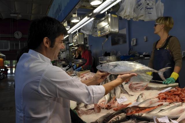 chef in girona market
