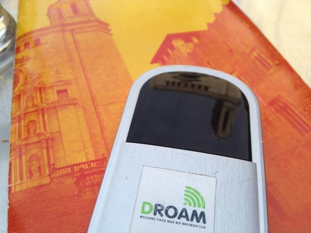 Using a Droam in Europe - Spain