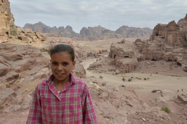 bedouin postcard seller