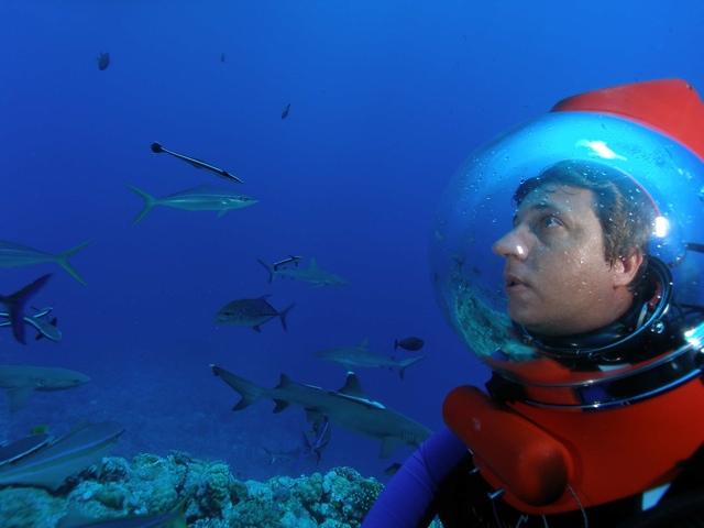 Richard Fitzpatrick Marine Biologist photo from Blog.Queensland.com