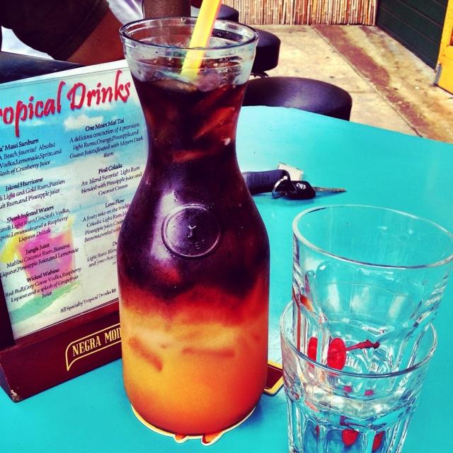 A pitcher of Mai Tais. Tips for Visiting Maui, Hawaii
